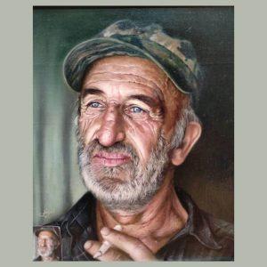 نقاشی رنگ روغن رئال