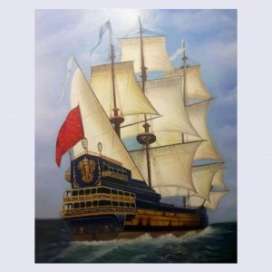 نقاشی کشتی