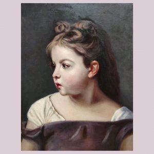 نقاشی رنگ روغن پرتره بوگرو
