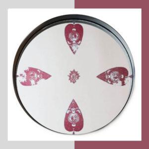 سینی و میز آینه ای